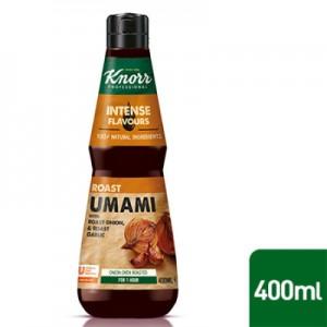 Esencija Umami su kepintais svogūnais ir česnakais KNORR, 400 ml