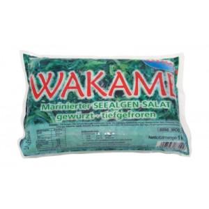 Marinuotos šaldytos Wakame jūros dumblių salotos, 1kg