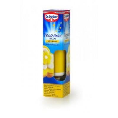 Maistiniai geliniai dažai DR.OETKER, geltoni, 10 g