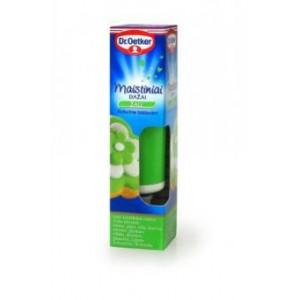 Maistiniai geliniai dažai DR.OETKER, žali, 10 g