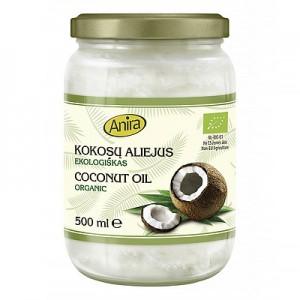 """Kokosų aliejus šalto spaudimo """"Extra Virgin"""", 500 ml"""