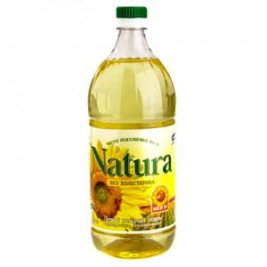 Saulėgrąžų aliejus  NATURA  1,5 L