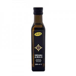 Sezamų aliejus šalto spaudimo,  250 ml