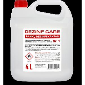 Rankų dezinfekantas Dezinf Care, 4 L
