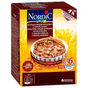 Dribsniai  5 grūdų NORDIC, 600 g