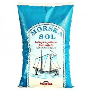 Druska jūros smulki, 1kg
