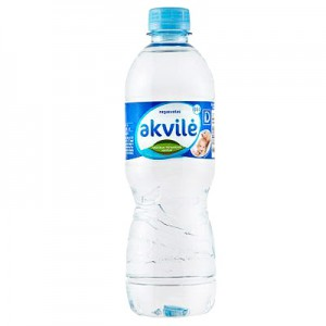 Mineralinis vanduo negazuotas AKVILĖ, 500 ml