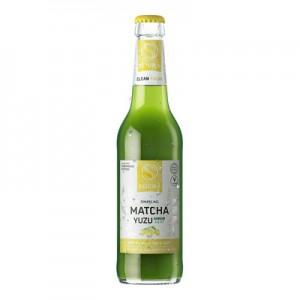 Šalto virimo japoniška matcha arbata su žaliųjų citrinų sultimis 330 ml