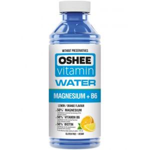 Vitaminizuotas vanduo OSHEE su magniu + Vit.B6, 555 ml
