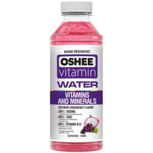 Vitaminizuotas vanduo OSHEE su vitaminais ir mineralais, 555 ml