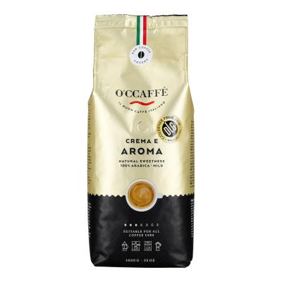 Kavos pupelės CREMA E AROMA 100% ARABICA 1kg