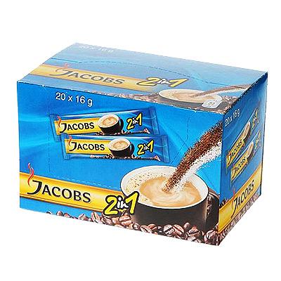 Kavos gėrimas Jacobs 2 in 1 (20 x 14 g )