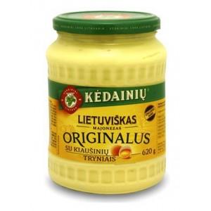 Majonezas Lietuviškas originalus 72%, 620 g