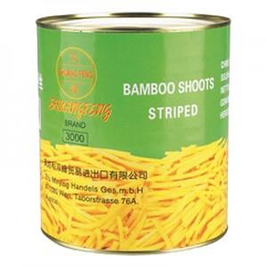 Bambuko juostelės,  2,95 kg / 1,8 kg