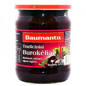 Burokėliai Daumantų, 500 g / 320 g