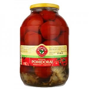Pomidorai raudoni naminiai KKF, 1,6 kg / 0,8 kg