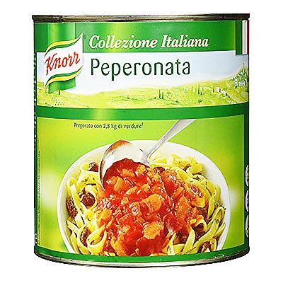 Paprikos pomidorų padaže KNORR 2,6 kg
