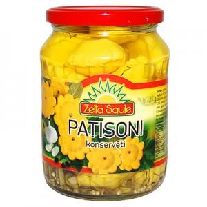 Patisonai geltoni 640 g / 340 g