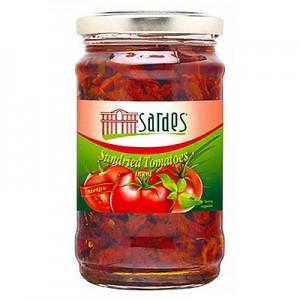 Pomidorai džiovinti saulėgrąžų aliejuje Sardes,  550 g / 350 g