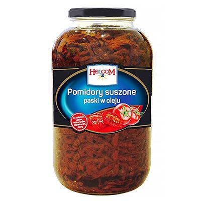 Pomidorai džiovinti saulėgrąžų aliejuje 4,1 kg / 2,5 kg