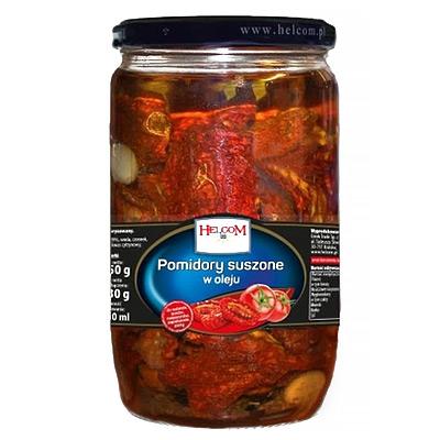 Pomidorai džiovinti saul. aliejuje  650 g / 380 g
