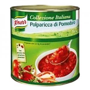 Pomidorai pjaustyti lupti KNORR, 2,55 kg / 1,01 kg