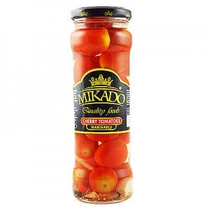 Pomidorai kons. vyšniniai MIKADO, 330 g / 205 g