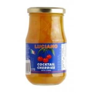Vyšnios kokteilinės geltonos Luciano, 365 g / 190 g