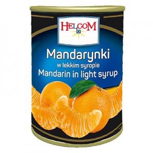 Mandarinų segmentai 2,5 kg /1,5 kg