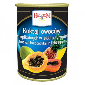 Tropinių vaisių mišinys 3,1 kg /  1,8 kg