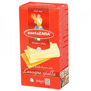 Makaronai lazanija PASTA ZARA Italija, 500 g
