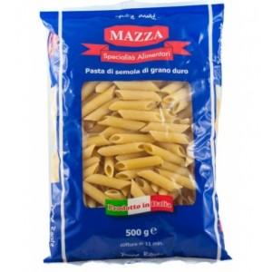 Makaronai vamzdeliai (Penne Rigate) MAZZA Italija, 500 g