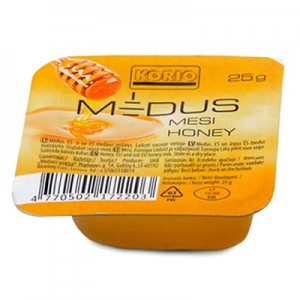 Medus natūralus KORIO, 20 vnt po 25 g