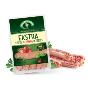 Dešrelės pieniškos EKSTRA, 430 g