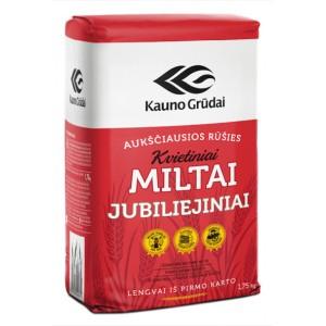 Kvietiniai a.r. miltai JUBILIEJINIAI 406C, 1,75 kg