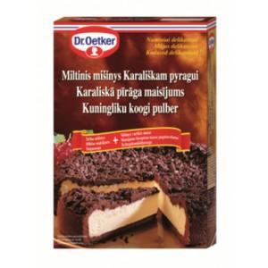 Miltinis mišinys DR. OETKER, Karališkam pyragui, 520 g