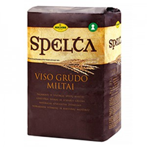 Kvietiniai miltai SPELTA pilno grūdo, Malsena, 1 kg