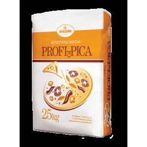 Kvietiniai miltai PROFI-PICA, Malsena,  25 kg