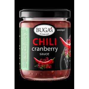 BUGA's aitriųjų paprikų ir spanguolių padažas, 170 g