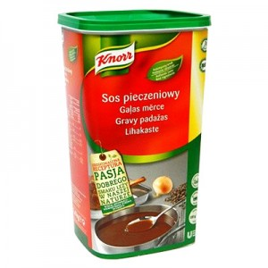 Padažas mėsos Gravy KNORR,  1,4 kg