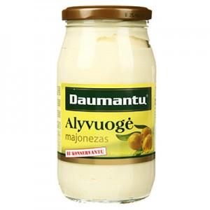 Majonezas  Alyvuogė 60 % Daumantų  415g