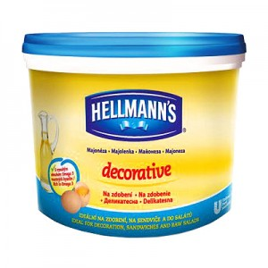 Majonezas Hellmanns 79 %, 3 L