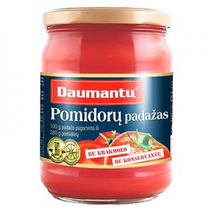 Pomidorų padažas be kons. Daumantų 500 g