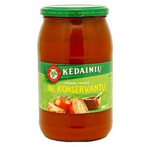 Pomidorų padažas be konservantų 35%, KKF, 1 kg