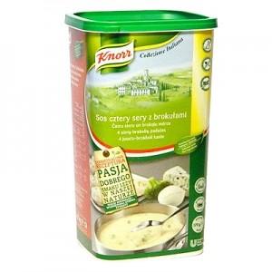 Padažas keturių sūrių ir brokolių Knorr, 900 g