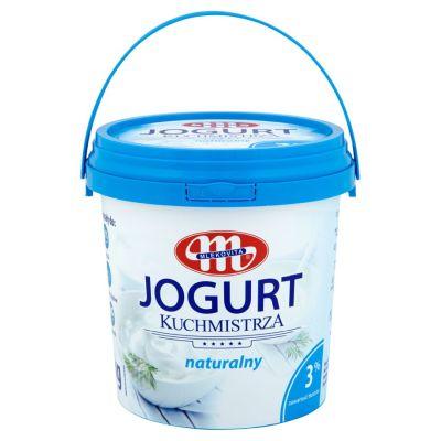 Jogurtas naturalus  MLEKOVITA 3 %, 1 kg