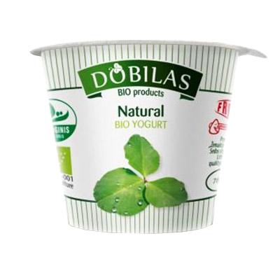 Jogurtas ekologiškas Dobilas, 125 g