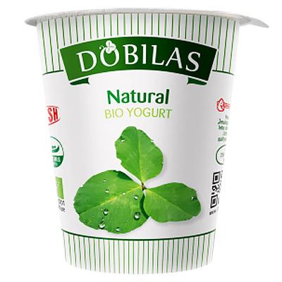 Jogurtas naturalus ekol. Dobilas 300 g