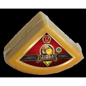 Sūris kietas Džiugas 40%, 12 mėn., ketvirčiais apie 1,1 kg