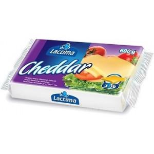 Sūris lydytas Cheddar, raikytas, 600 g